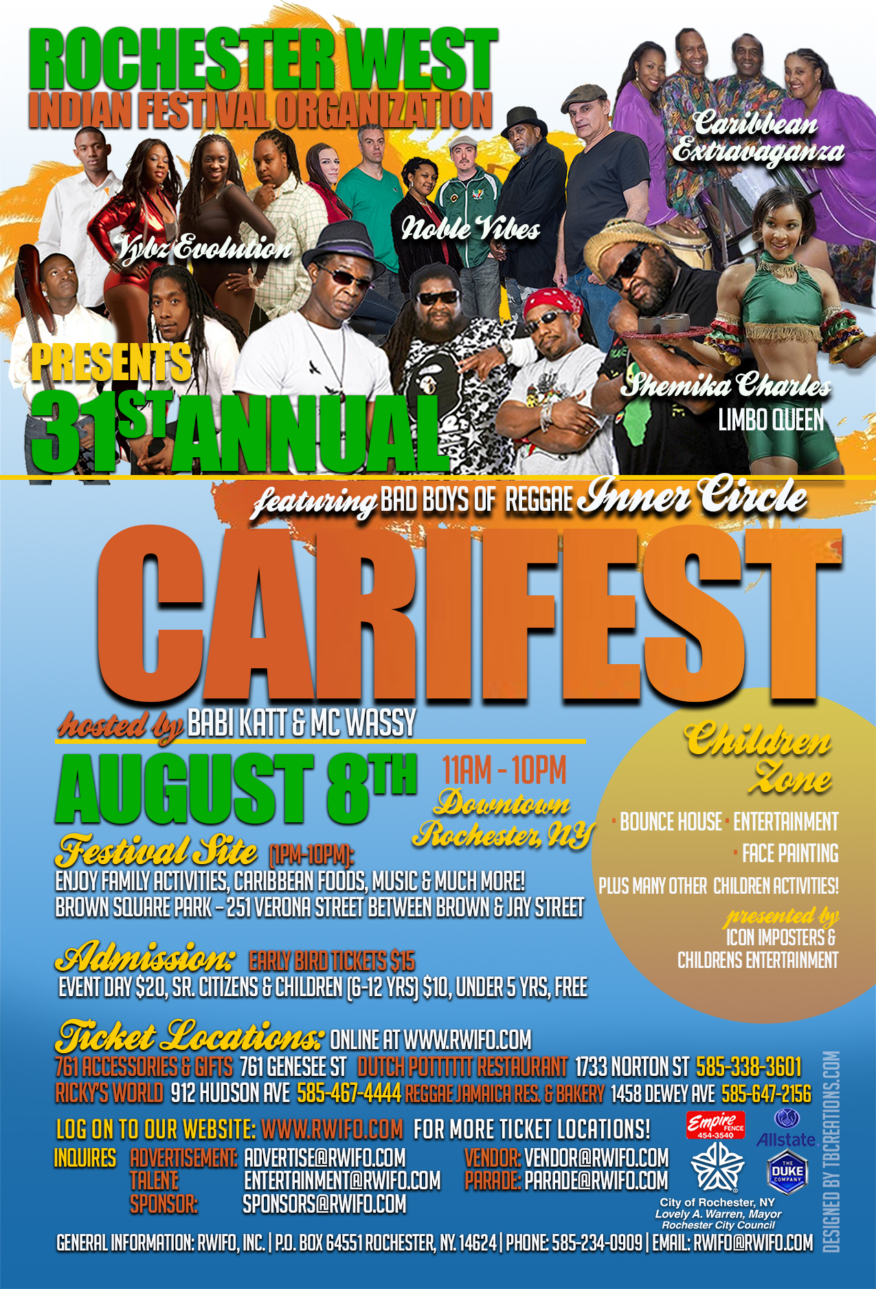 Carifest 2015 Flyer