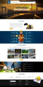 Lu Engineers Web Mockup