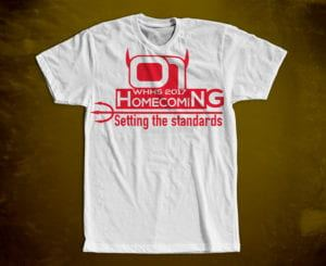 WHHS Homecoming Shirt Design