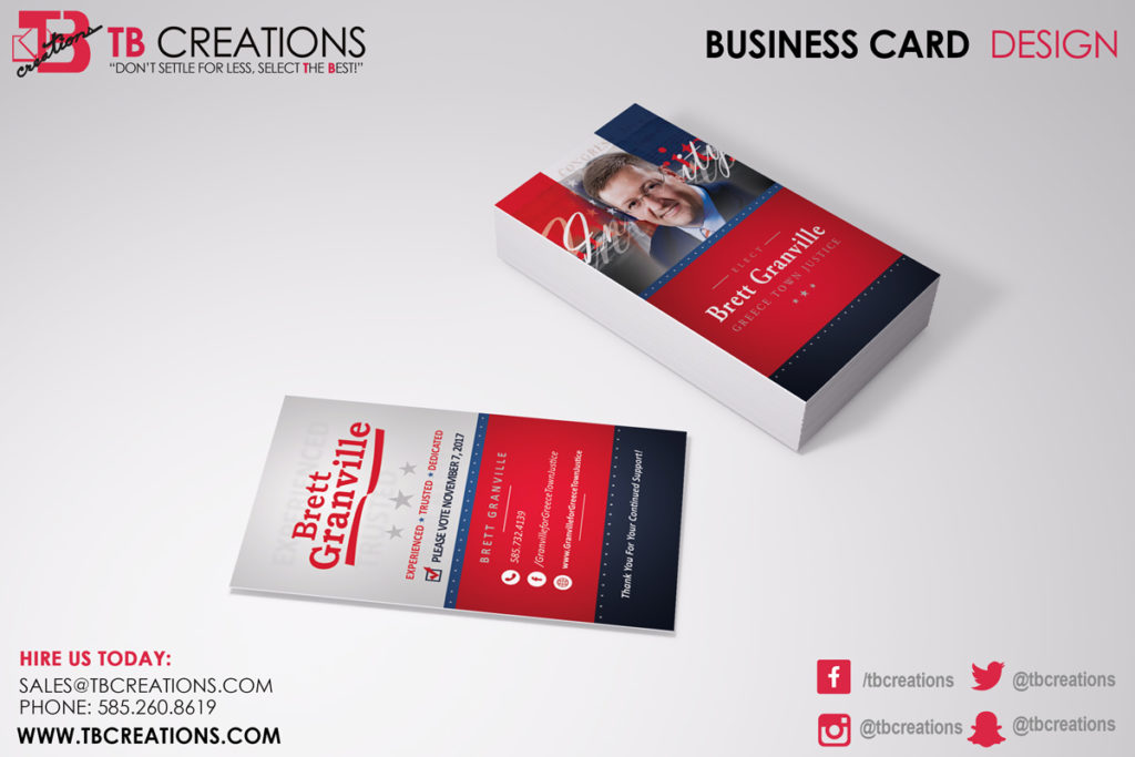 Brett Granville Business Card Mockup