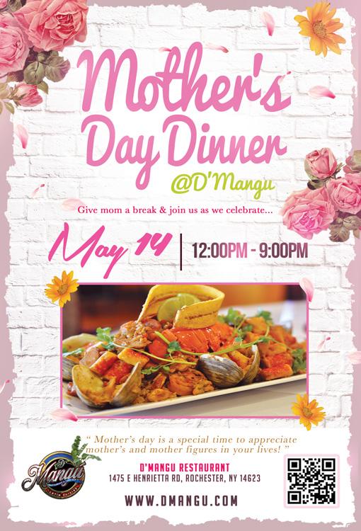 D'Mangu Mother's Day Dinner