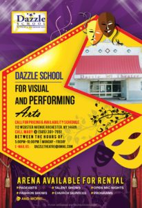Dazzle School Flyer