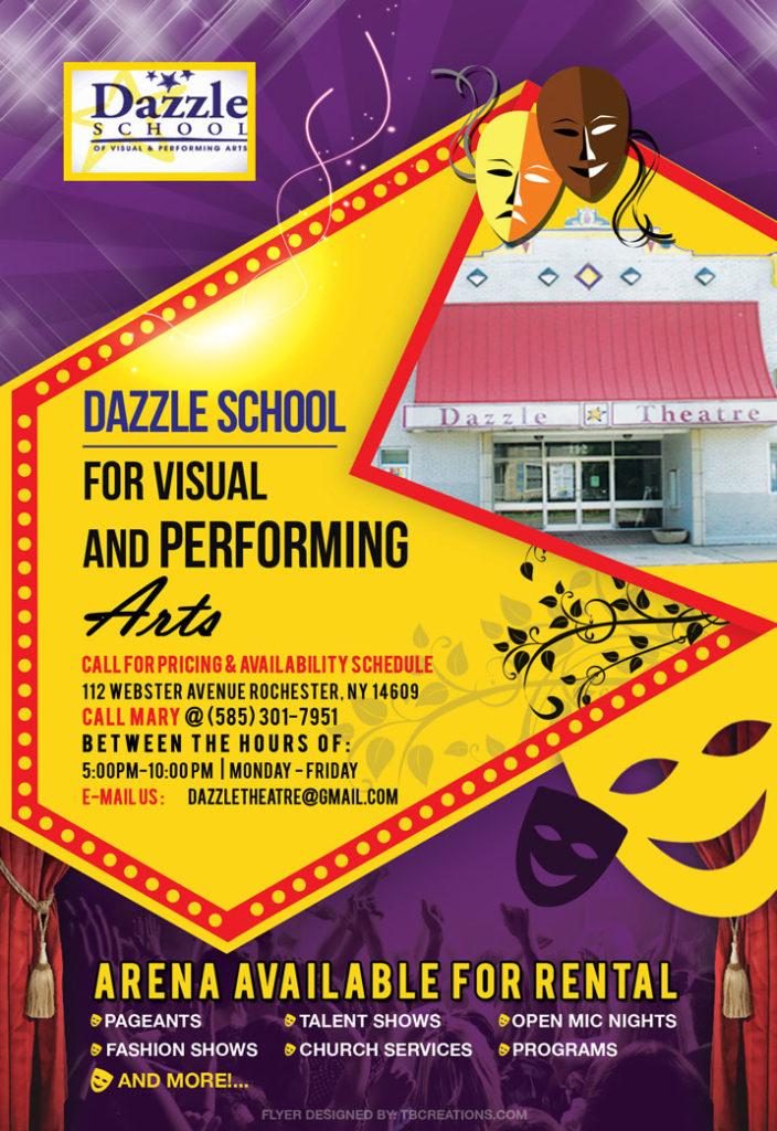 Dazzle School Flyer