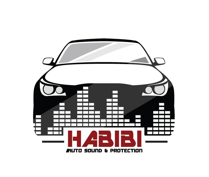Habibi Auto Sound and Protection – Logo