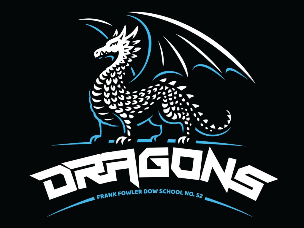 School 52 Dragons – Logo