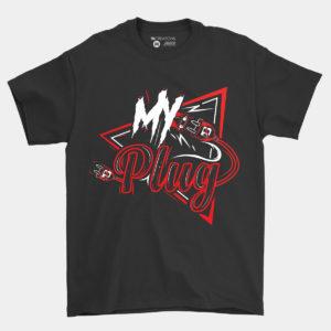 Get Branded Crew Neck Shirt – Black
