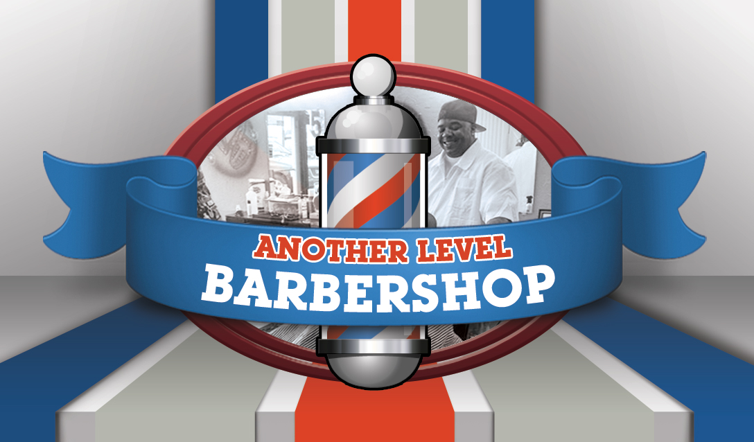 Another Level Barbershop – Business Cards