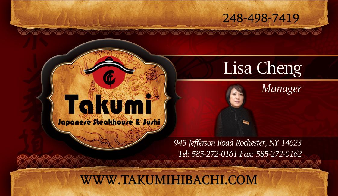 Takumi – Business Cards