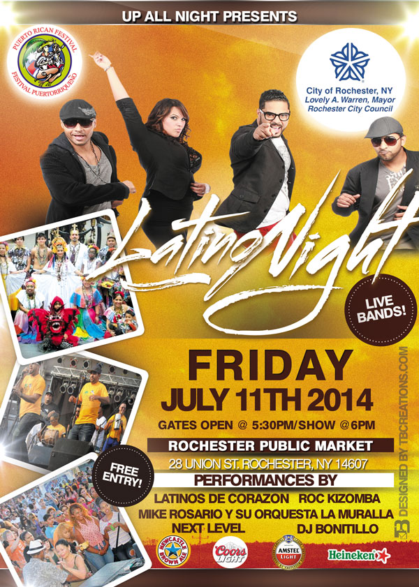 Frontier Latino Night 2014