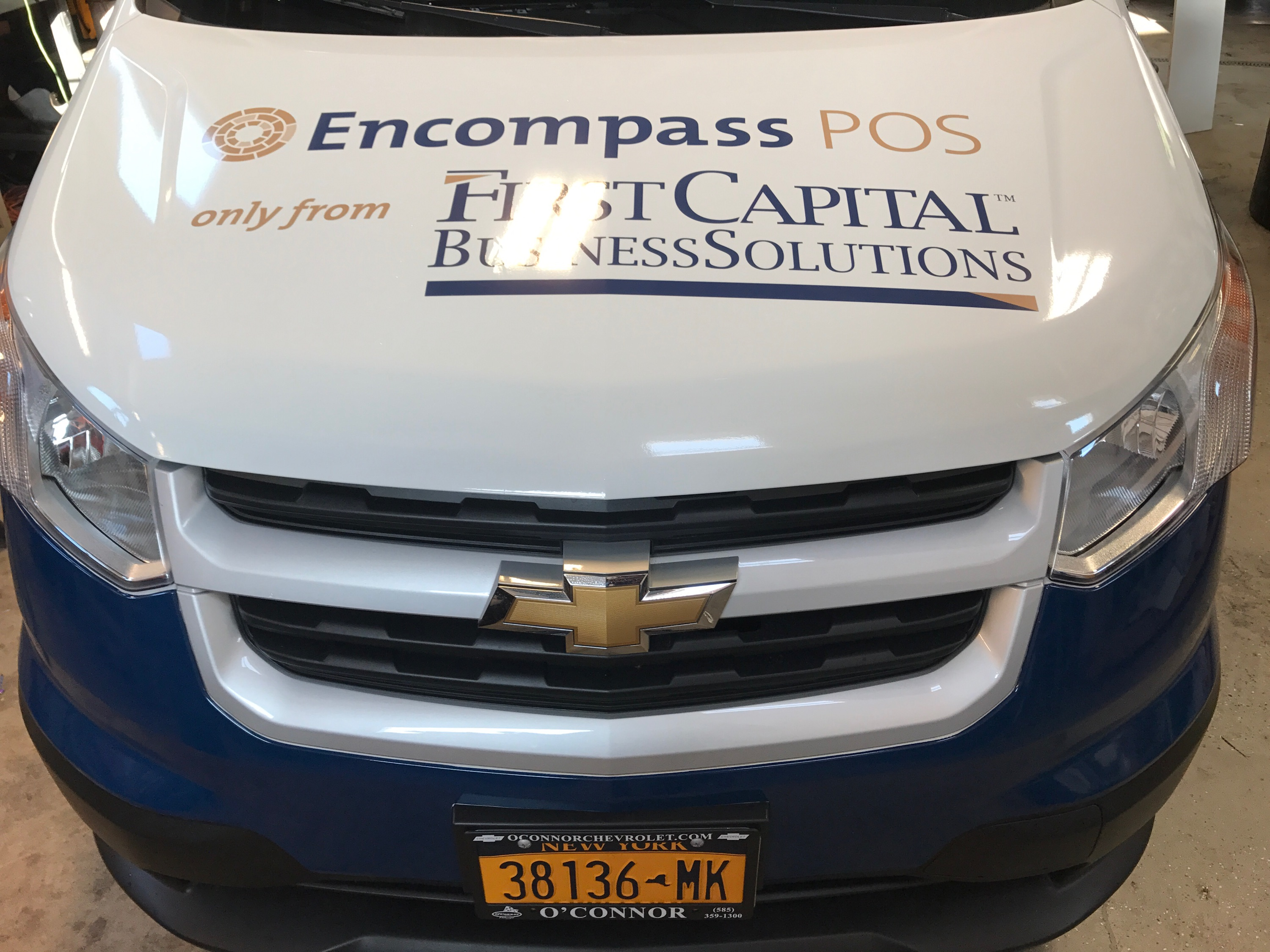 First Capital Vehicle Wrap