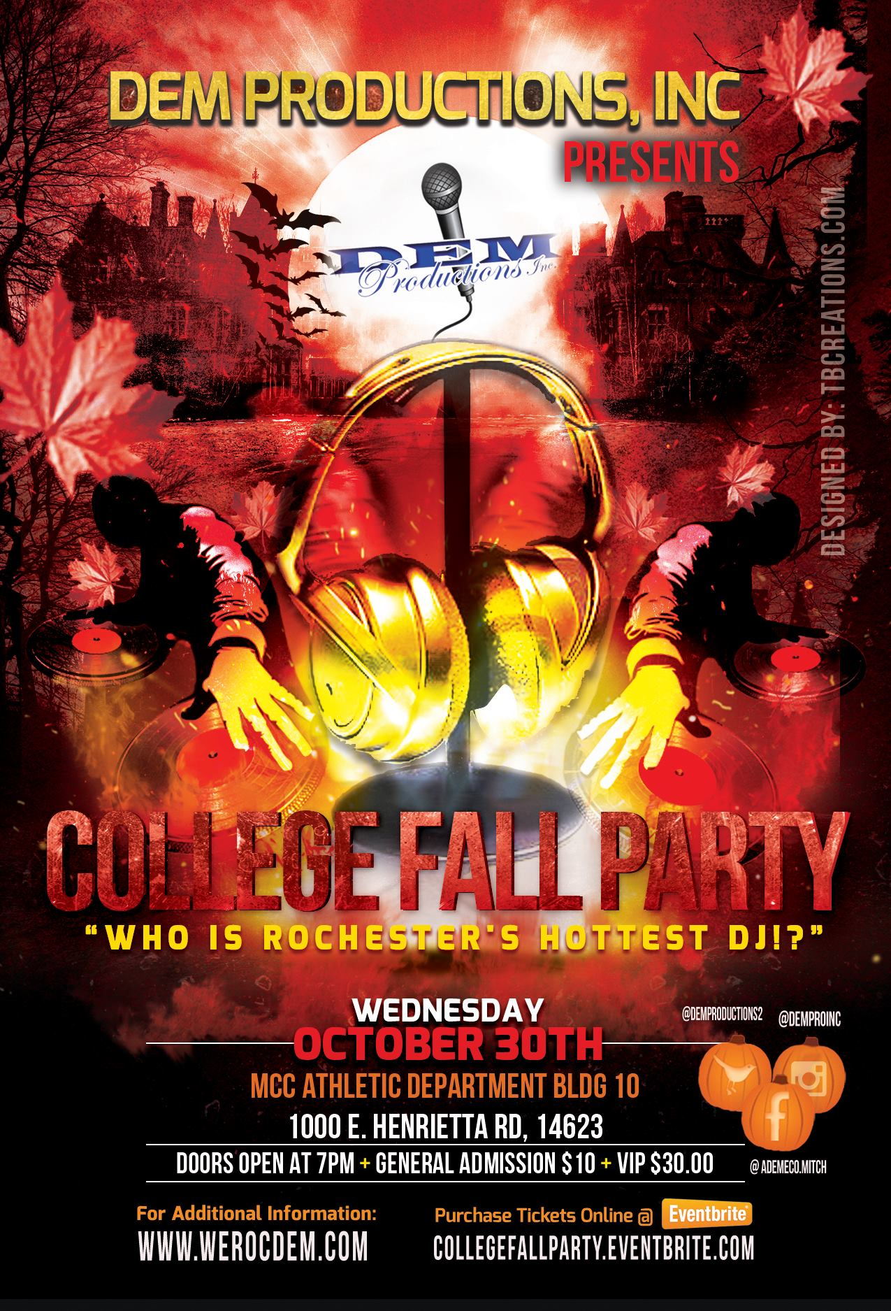 College Fall Party