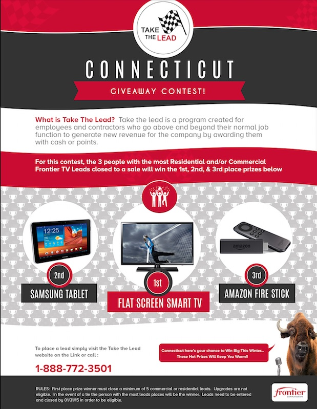 Frontier Connecticut GiveAway