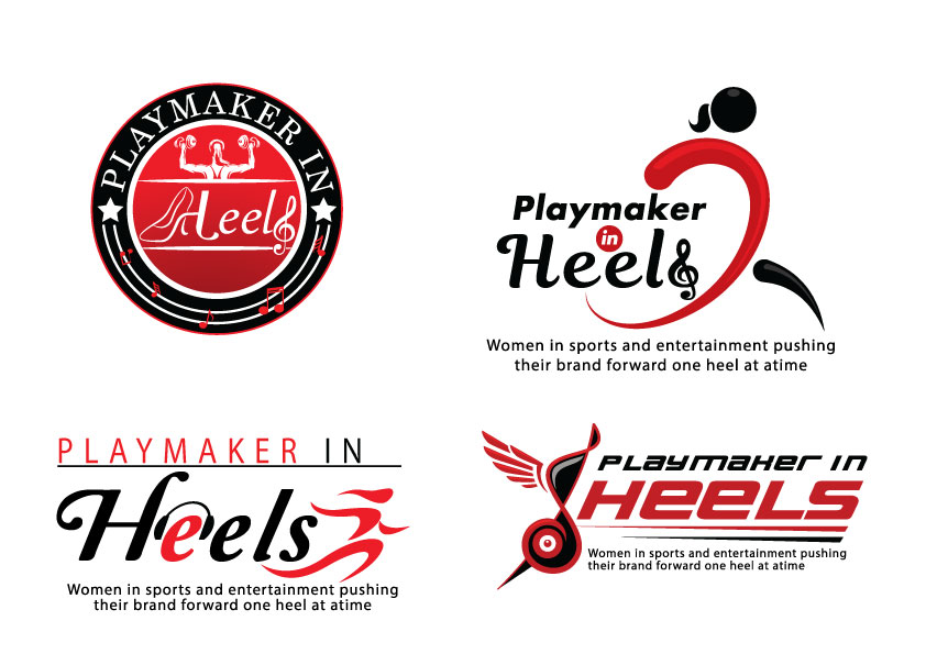 Playmaker in Heels Logo