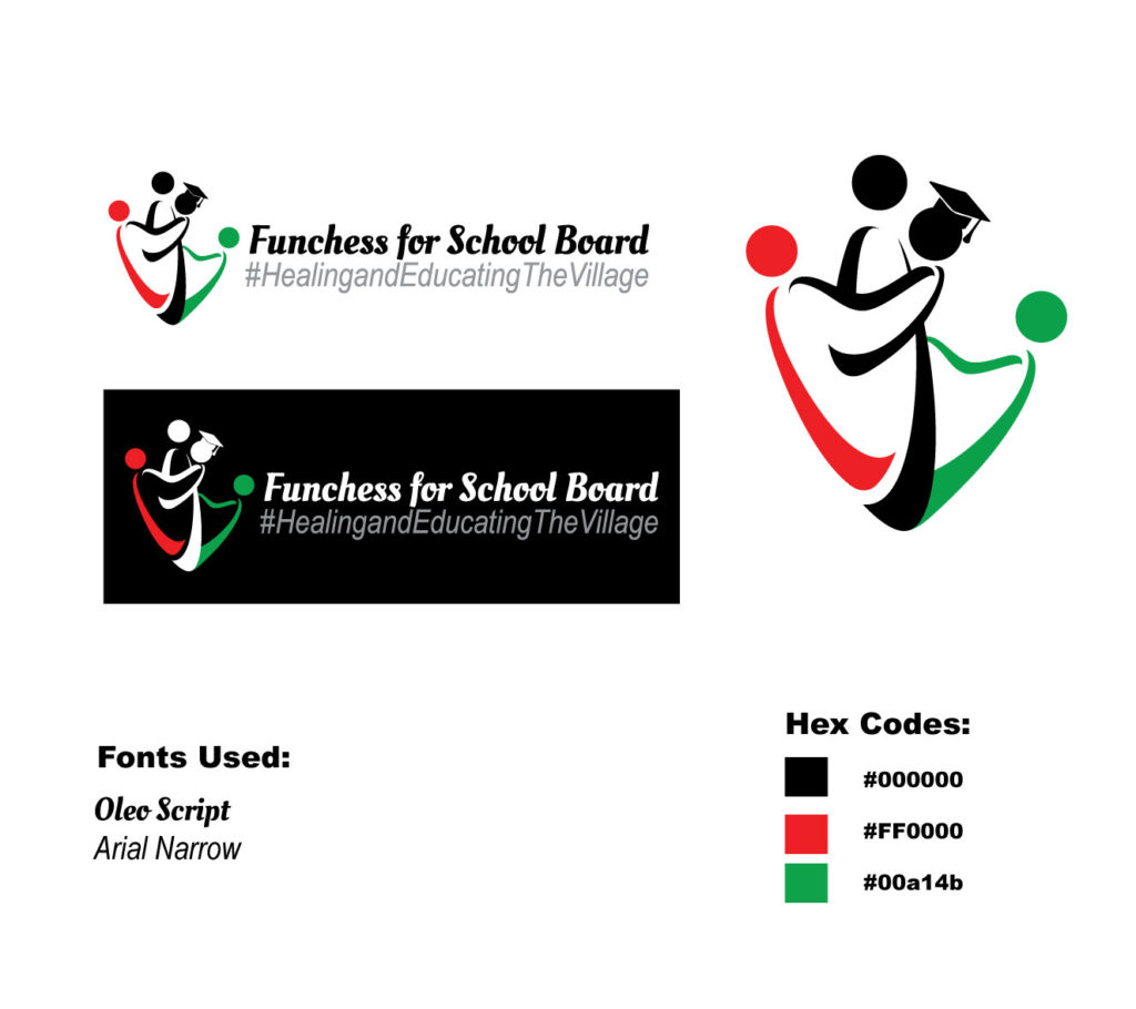 Funchess for School Board Commissioner – Logo