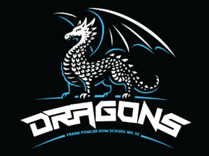 School 52 Dragons – Logo