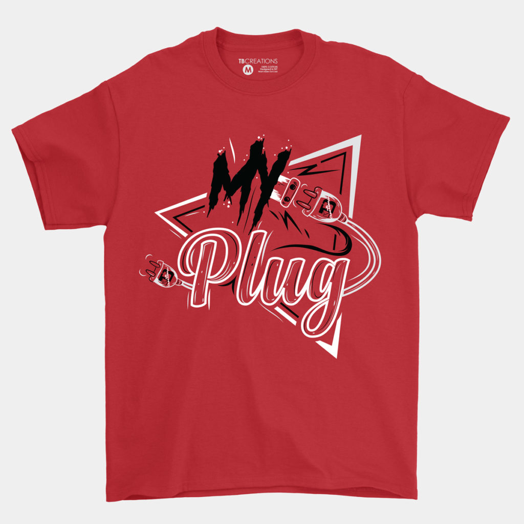 My Plug Shirt – Red