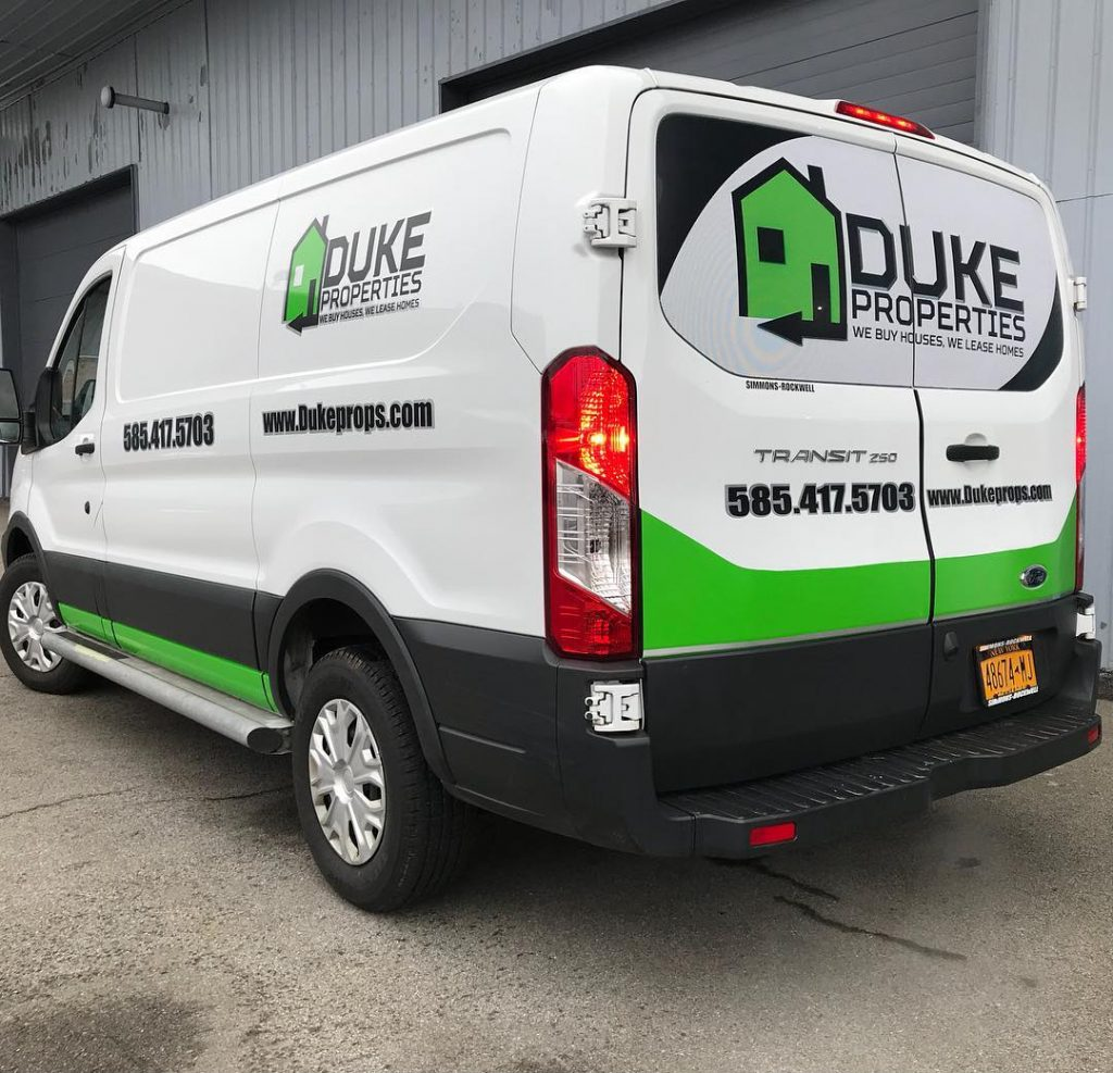 Duke Properties Transit Wrap
