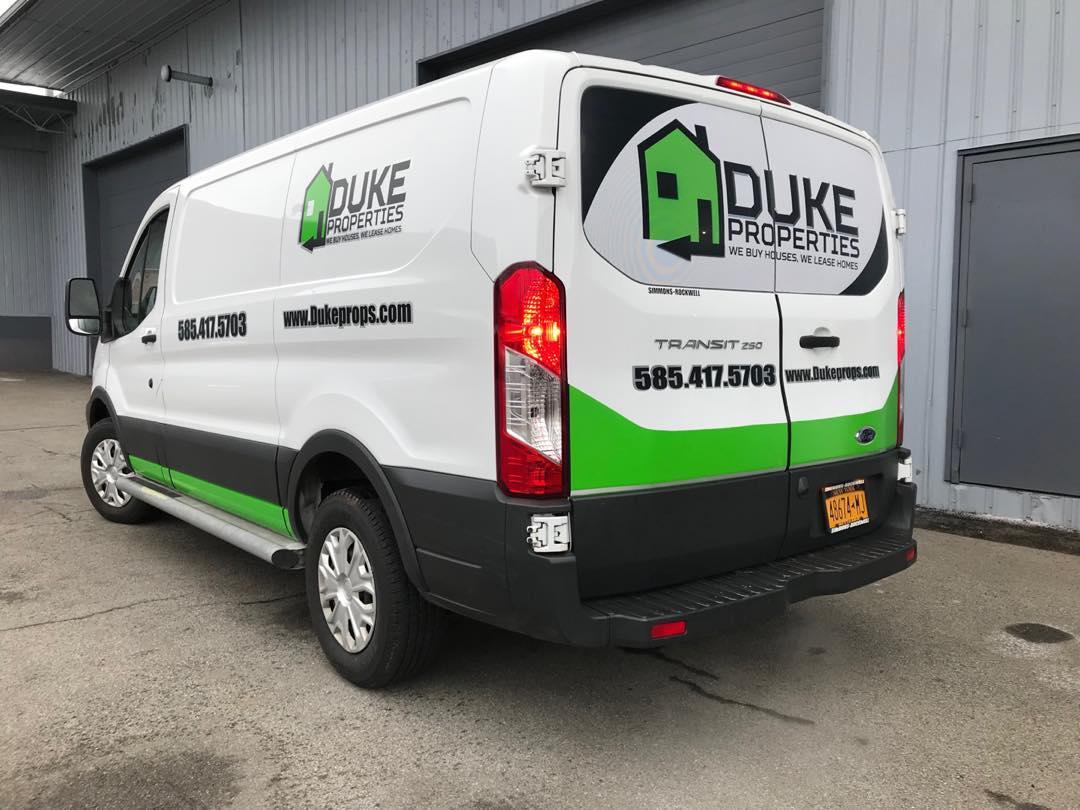 Duke Properties Transit Wrap