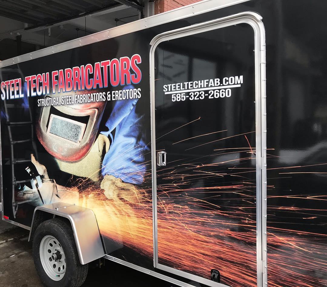 Steel Tech Fabrication Vehicle Wrap