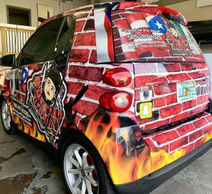 Burrito Urbano Vehicle Wrap