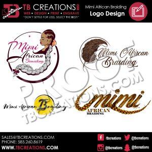 Mimi's African Braiding Logo