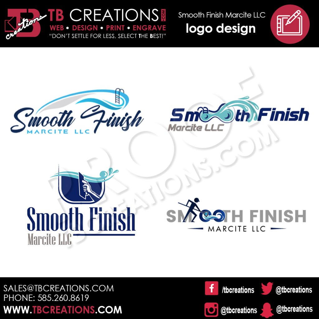 Smooth Finish LLC – Logo Design